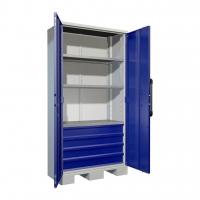 Шкафы инструментальные металлические тяжелые AMH