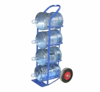 Тележки для перевозки бутылей воды
