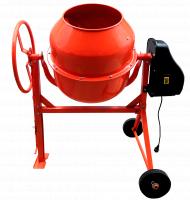 Бетоносмеситель BOHRER БСЭ-120 550 Вт, объём барабана 120 л, чугунный венец, 38 кг