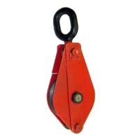 Блок однорольный (для каната и веревки) TOR HQG(L) K1-10,0 т-0 (ушко)