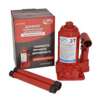 Домкрат гидрав.бутылочный 2 т в коробке (красный) (подъем 290мм) AV-074202 \