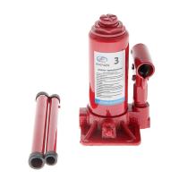 Домкрат гидрав.бутылочный 3 т в коробке (красный) (подъем 305мм) AV-074205 \