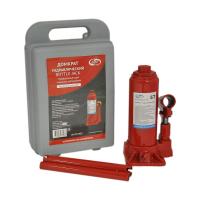 Домкрат гидрав.бутылочный 5 т в кейсе (красный) (подъем 375мм) AV-072405 \