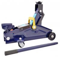 Домкрат гидравл.подкатной 2т +кейс (синий) (подъем 300 мм) AV-076002 \