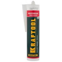 Герметик силиконовый KRAFTOOL белый, универсальный, 300мл