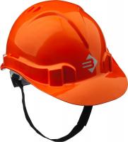 Каска защитная ЗУБР Мастер, оранжевая