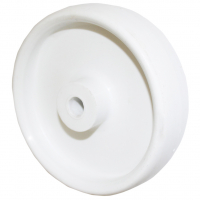 Колесо 160/45 ПП-Б (Белое, полипропилен от -40 до+80С) ступица 57мм