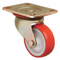 Колесо EMES полиуретановое поворотное (D80) 180 кг