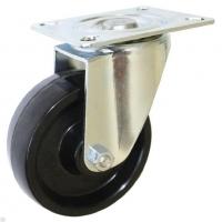 Колесо фенольное термостойкое поворотное EM01 BKB 80 мм