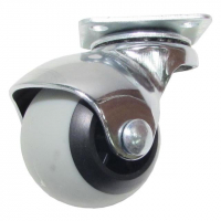 Колесо шарик оцинкованное 50 мм поворотное