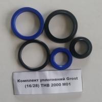Комплект уплотнений Grost (16/28) THB 2000 M01