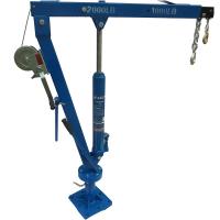 Кран гидравлический стационарный AE&T Т62103A 900 кг с лебедкой