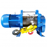 Лебедка электрическая EURO-LIFT KCD - т/у: 300/600кг; в/п: 70/35м; U=380В
