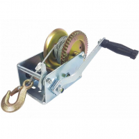 Лебедка ручная TOR ЛФ-1200 (FD) г/п 0,5 т, длина ленты 10 м