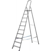 Лестница-стремянка СИБИН алюминиевая, 10 ступеней, 208