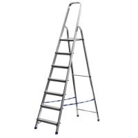 Лестница-стремянка СИБИН алюминиевая, 7 ступеней, 145