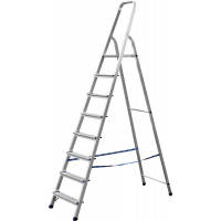 Лестница-стремянка СИБИН алюминиевая, 8 ступеней, 166
