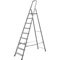Лестница-стремянка СИБИН алюминиевая, 9 ступеней, 187 см