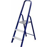 Лестница-стремянка СИБИН стальная, 3 ступеней, 60 см