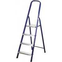 Лестница-стремянка СИБИН стальная, 6 ступеней, 124 см