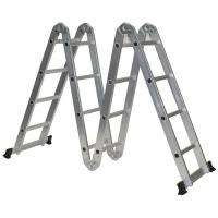Лестница-трансформер LWI 4х4 4-х секционная 4 ступеней