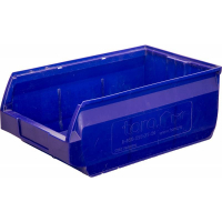 Лоток для склада Milano 350х230х150 РР, синий