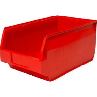 Лоток для склада Venezia 500х310х250 РР, красный