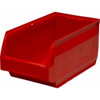 Лоток для склада Verona 250х150х130 РР, красный