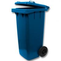 Мусорный контейнер на колёсах (120 л) синий