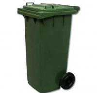 Мусорный контейнер на колёсах (120 л) зеленый