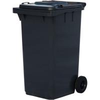 Мусорный контейнер на колёсах (240 л) серый