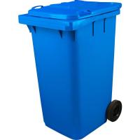 Мусорный контейнер на колёсах (240 л) синий