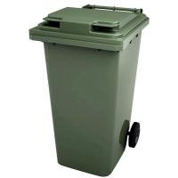 Мусорный контейнер на колёсах (240 л) зеленый