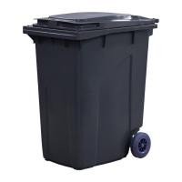 Мусорный контейнер на колёсах (360 л) серый