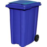 Мусорный контейнер на колёсах (360 л) синий