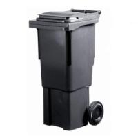 Мусорный контейнер на колёсах (60 л) темно-серый
