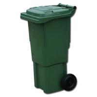 Мусорный контейнер на колёсах (60 л) зеленый