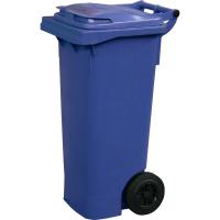 Мусорный контейнер на колёсах (80 л) синий