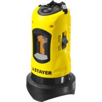 Нивелир лазерный, 10м, точн. +/-0,5 мм/м STAYER SLL-1