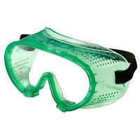 Очки защитные ударопрочные с прямой вентиляцией, закрытого типа