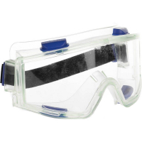 Панорамные очки защитные с непрямой вентиляцией, закрытого типа.