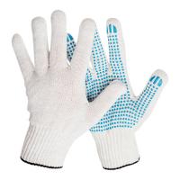 Перчатки трикотажные с ПВХ 10 кл (4 нитка)