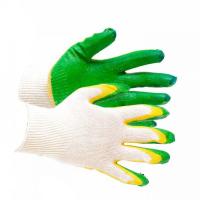 Перчатки трикотажные с 2-латексным покрытием