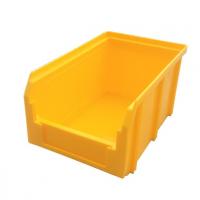 Пластиковый ящик V-1 литр, желтый