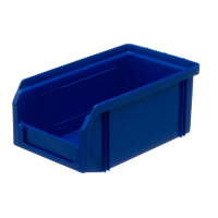 Пластиковый ящик Стелла-техник V-1-синий 172х102х75мм, 1 литр