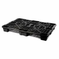 Паллет  полимерный 02.102.99 R (1200*800*140) перфорированный на ножках (черный)