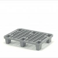 Паллет полимерный 02.116.91 (800*600*135) перфорированный на ножках (серый)