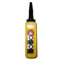 Пульт 4 кнопочный, 1 ступенчатые кнопки + СТОП БУТОН + ключ (XAC-A4713Y)