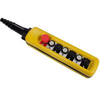 Пульт 6 кнопочный, 2 ступенчатые кнопки + СТОП БУТОН  (XAC-A6913)