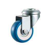 PVC Колесо ПВХ 50 мм под болт М10 синий